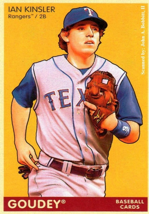 2009 Upper Deck Goudey #190 Ian Kinsler, Texas Rangers