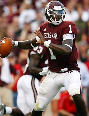 QB Jerrod Johnson   Texas A&M