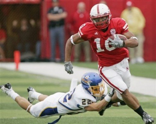 RB Roy Helu  Nebraska