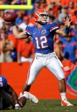QB John Brantley  Florida