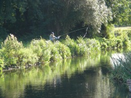 Fly-Fishing-off-the-Bank