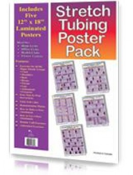 Tubing Poster Pack - Group of Resistance Band Exercise Posters
