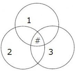 Venn Diagram Illustrating Blogging Platform Decision Map