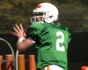 Matt Simms, Quarterback