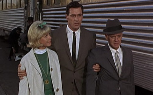 Doris Day, Rock Hudson and Tony Randall in Send Me No Flowers