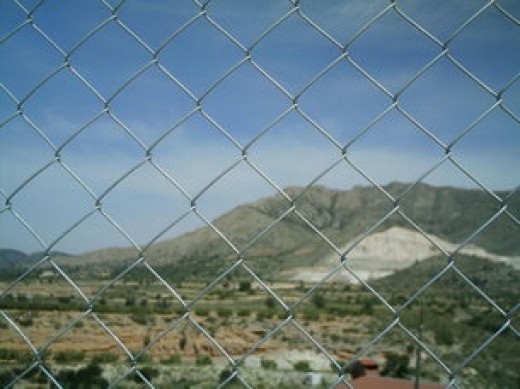 How to put up chain link fence install chain link fence materials - Most frequent fence materials ...