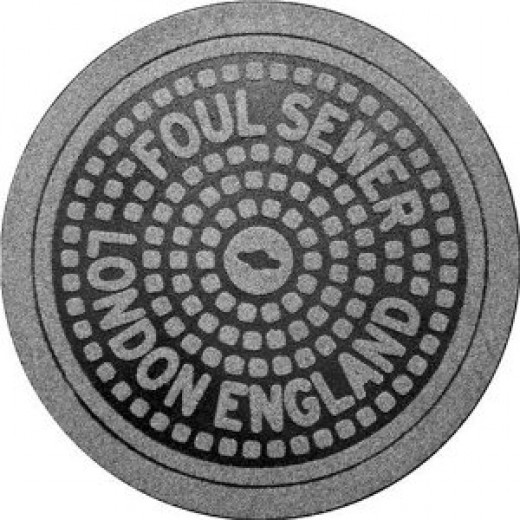 Fred Feet First Manhole Mat London