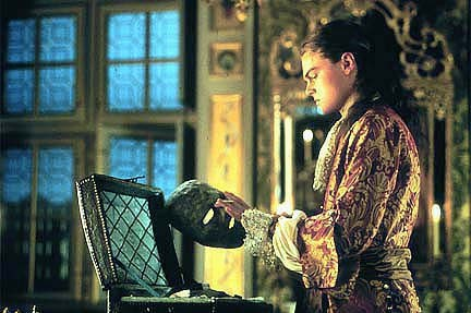 Leonardo DiCaprio in The Man in the Iron Mask