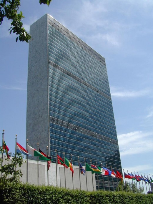The UN headquarters
