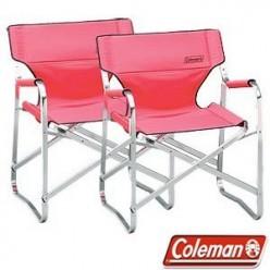 Coleman Aluminum Portable Deck Chair 2-pack