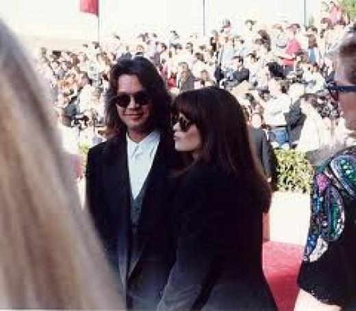 Wife to rock star Eddie Van Halen