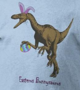 kids cute velociraptor raptor easterus bunnysaurus easter bunny ears egg claws