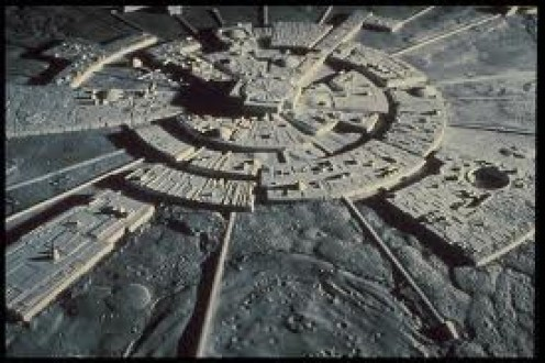 The Illuminati moonbase.