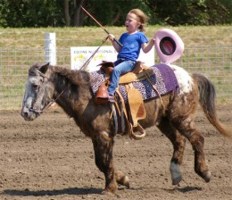 This bucking pony is a good illustration that ponies and age don't always make the best mounts for children.
