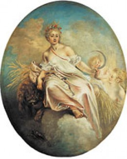 Roman Goddess Ceres (Public Domain Image)