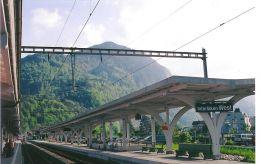 train station in Interlaken