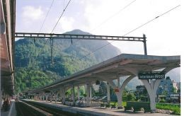 train station in Interlaken
