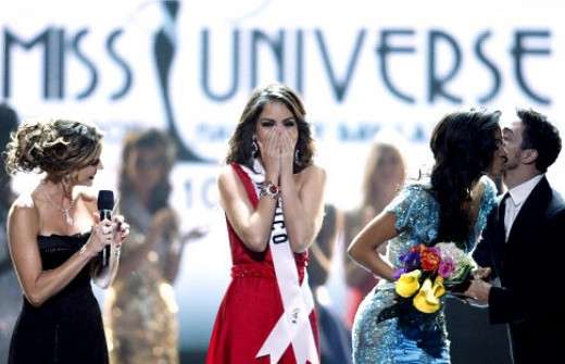 Miss Mexico's reaction upon the announcement of winner on Miss Universe 2010 (Photo courtesy of http://assets.nydailynews.com/)