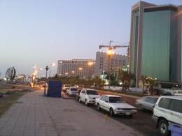 The roads of Saudi Arabia