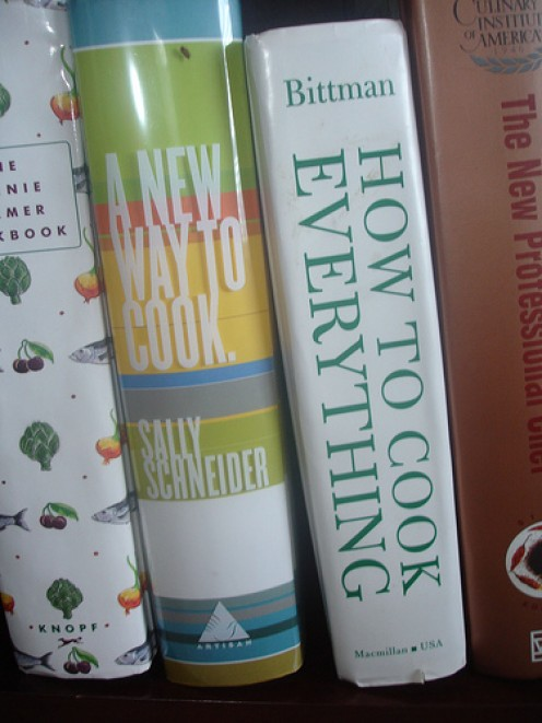 Perhaps a thing of the past - real cookbooks?