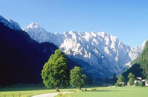Logarska Valley, Eastern Alps, Slovenia; from freewebs.com