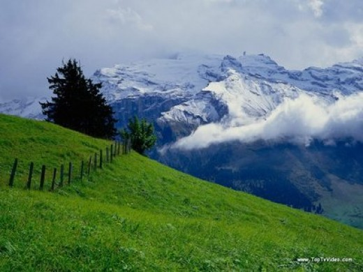 Swiss mountains, from hitsgarden.com
