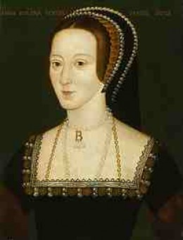 The lovely Anne Boleyn
