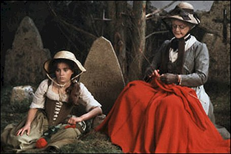 Granny (Angela Lansbury) and Rosaleen