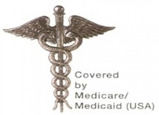 Medicare/Medicaid emblom, the unofficial symbol of universal health care