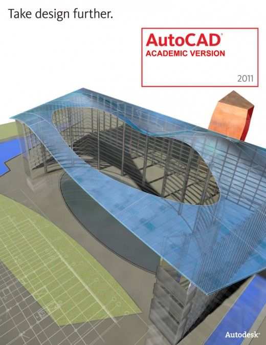 the new AutoCad 2011 Autodesk