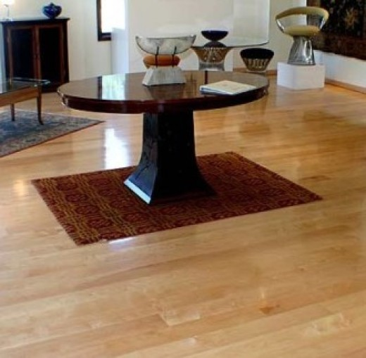 rock maple flooring