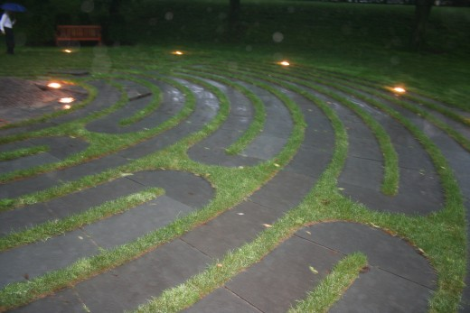Labyrinth at Boston College