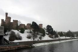 Scotland: Inverness Castle In Winter