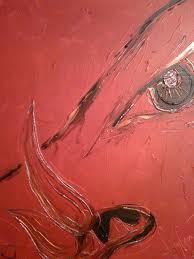 Painted by artist, Abby Carman