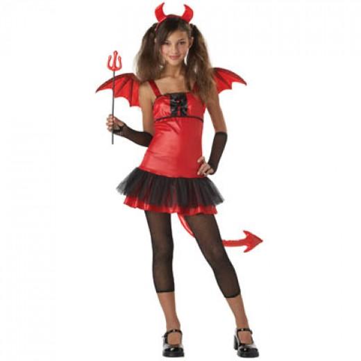 Devil Girl Childs Costume