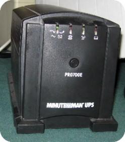 Minuteman Pro 700 UPS - Beeping Problem