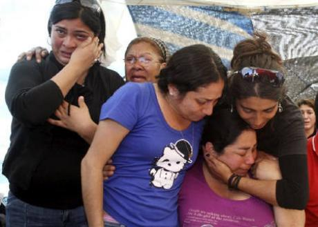 Relatives of Miners Trapped in Chile
