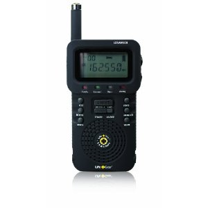 Life+Gear LGSAME08B NOAA Weather Band, AM and FM Radio with Alarm Clock and LED Light, Black