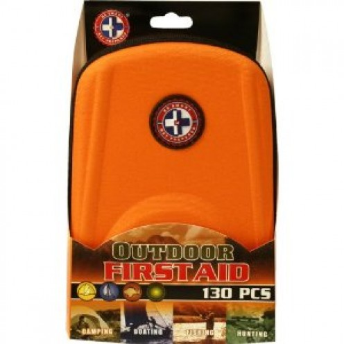 Total Resources International 130-Piece Outdoor First Aid Kit in EVA Case