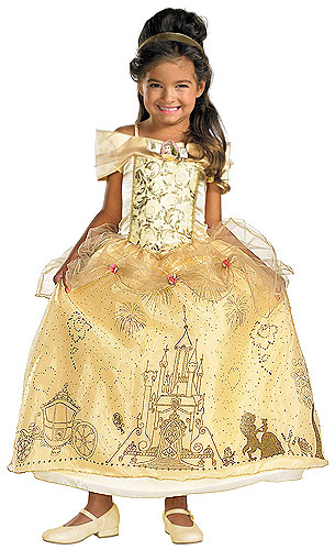 Your little girl will be the belle of the ball in this Halloween costume.