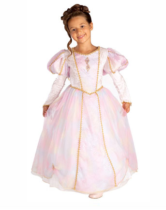 Princess Costumes includes: tinsel tiara, dress and wand.