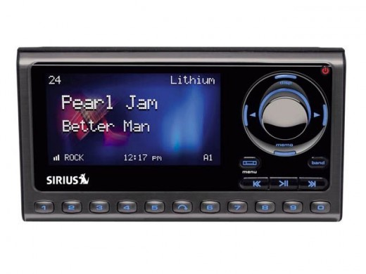 SIRIUS Sportster 5 Satellite Radio Receiver