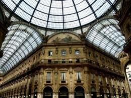 Galleria Vittorio Emanuele ll shopping arcade