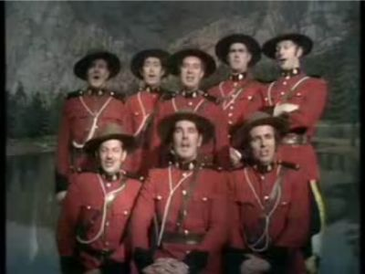 The Lumberjack Song by Monty Python members.
