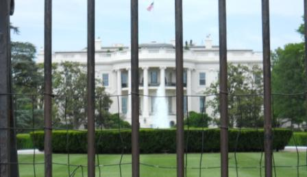 Added security on the roof top of the White House and on the fence. This was once America's home and open to the public. Under the G.W. Bush administration, all tours stopped and security was increased. Obama brought back tours-security still present