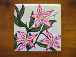 Ceramic Tile Arts and Crafts for Kids