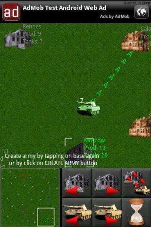 Tank Warriors -- screenshot from Androlib.com