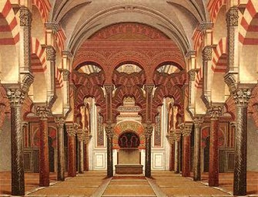 Inside the Grand Mosque - photo credit google-image