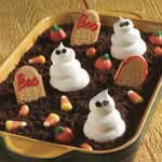 Halloween Food Ideas - Ghosts In The Graveyard