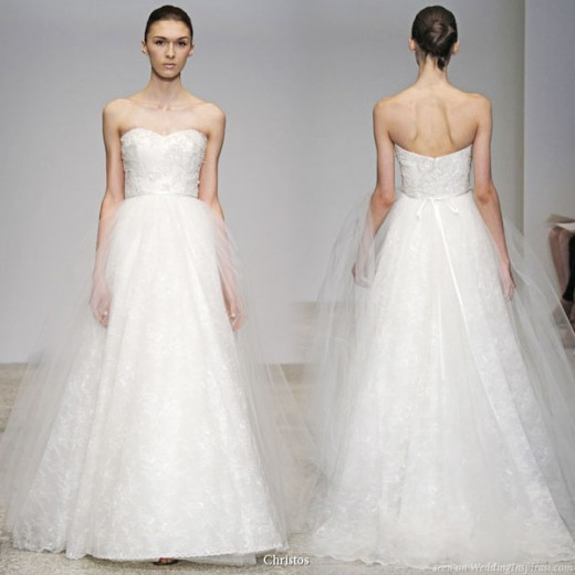 Bad Bridal Gown Choices for a Skinny Woman